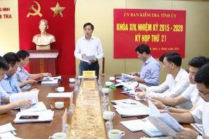 Quảng Ninh: Kỷ luật nguyên Phó Giám đốc Ban Quản lý dự án
