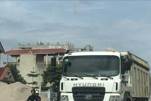 Xử lý trên 1.600 xe vi phạm tải trọng trọng tháng 8/2019