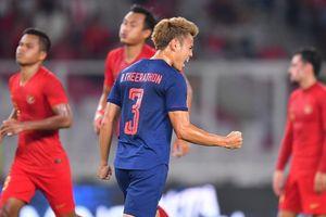 Vòng loại World Cup 2022: Thái Lan thắng đậm Indonesia tại 'chảo lửa' Bung Karno