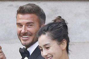 David Beckham bất ngờ trở thành 'chú rể' của Angela Baby