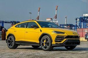 Ngắm nhìn siêu phẩm Lamborghini Urus vừa cập cảng Hải Phòng