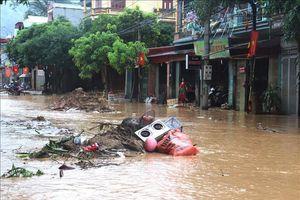 Mưa lớn gây thiệt hại nặng ở Hà Giang