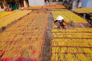 Doanh nghiệp xuất khẩu hương nhang bị Ấn Độ 'làm khó'