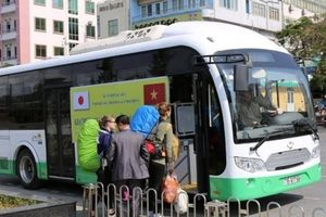 Xe buýt điện 10 tỷ Nhật Bản hỗ trợ Hải Phòng bị 'giam lỏng' ở Cát Bà