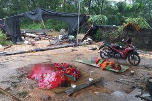 Mưa lớn ở Thái Nguyên, bức tường đổ sập vùi lấp nhóm thợ xây làm 3 người thiệt mạng