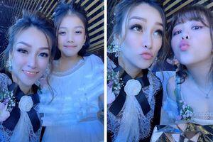 Lộ diện hình ảnh vợ cũ xinh đẹp của đại gia Minh Nhựa trong lễ cưới con gái
