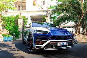 Cận cảnh Lamborghini Urus 23 tỷ độc nhất của đại gia Minh Nhựa
