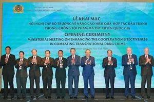 Khai mạc Hội nghị cấp Bộ trưởng về nâng cao hiệu quả hợp tác đấu tranh phòng, chống tội phạm ma túy xuyên quốc gia