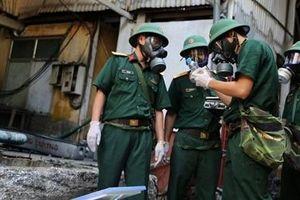 Bộ Quốc phòng chỉ đạo Binh chủng Hóa học xử lý ô nhiễm hóa chất ở Rạng Đông