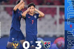 VL World Cup 2022: Thái Lan đè bẹp Indonesia, Malaysia thua ngược UAE