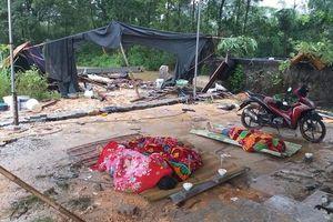 Mưa lớn làm tường đổ đè trúng trong khi ngủ, 3 công nhân Thái Nguyên thiệt mạng