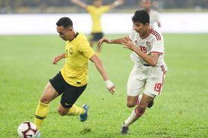 Malaysia ghi bàn cực nhanh vẫn thua đau UAE trên sân nhà