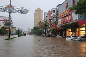 Nguyên nhân Thái Nguyên chìm trong nước chỉ sau một đêm