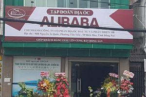 Xử phạt 15 triệu đồng vì treo biển 'Tập đoàn Địa ốc Alibaba'