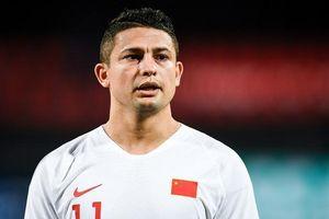 Cầu thủ nhập tịch cảm ơn CĐV sau trận ra mắt tuyển Trung Quốc