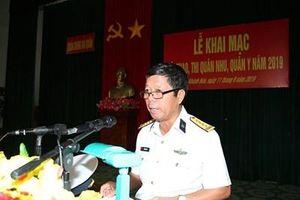 Quân chủng Hải quân khai mạc hội thi, hội thao quân nhu, quân y năm 2019