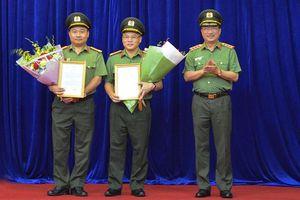 Giám đốc Công an tỉnh Bắc Ninh làm Cục trưởng Cục Cảnh sát điều tra tội phạm về tham nhũng, kinh tế