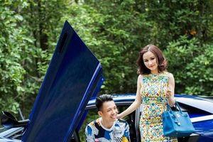 Choáng với phong cách thời trang sang chảnh của vợ hai đại gia Minh Nhựa