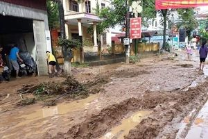 Yên Minh hoang tàn sau mưa lũ