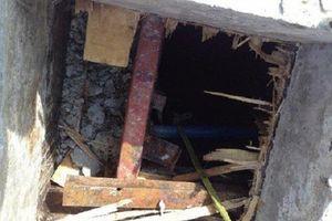 Thanh Hóa: Dỡ cốt pha dưới tầng hầm khách sạn, 2 công nhân tử vong