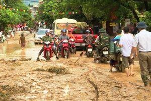 Mưa lớn gây thiệt hại tại một số tỉnh miền núi phía Bắc