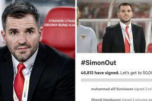 Vòng loại World Cup 2022: CĐV Indonesia nổi giận đòi sa thải HLV