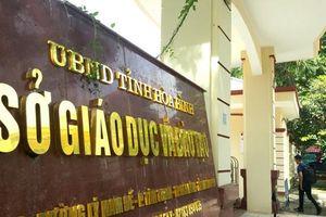 Hòa Bình khiển trách đảng viên có con được nâng điểm để vào Học viện Cảnh sát