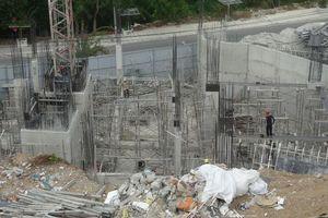 Nha Trang (Khánh Hòa): Dự án biệt thự gần bị cưỡng chế vẫn xây dựng