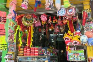 Đồ chơi truyền thống chiếm ưu thế thị trường Tết Trung thu
