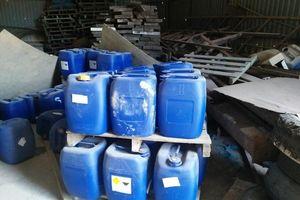 Phát hiện cả kho hóa chất dùng sản xuất ma túy tại Bình Định