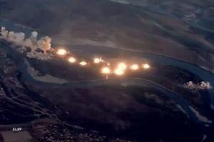 Xem chiến đấu cơ F-15, F-35 của Mỹ 'dội lửa' xuống cứ điểm IS ở Iraq