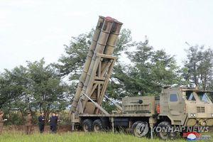 Điểm lạ trong vụ thử bệ phóng tên lửa 'siêu lớn' mới nhất của Triều Tiên