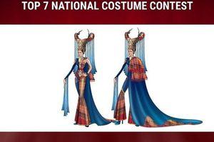 Lộ diện trang phục dân tộc của Thái Lan ở Miss Universe 2019, tên gọi mới gây choáng