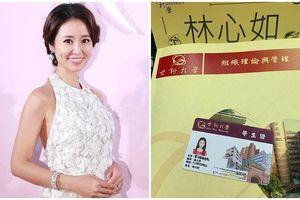 43 tuổi, Lâm Tâm Như vẫn học bằng thạc sỹ dù đứng trên đỉnh cao thành công