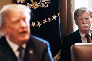 Tổng thống Trump bất ngờ sa thải Cố vấn An ninh Quốc gia Mỹ John Bolton