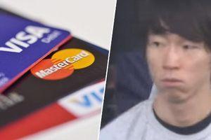 Nhân viên thu ngân ghi nhớ thẻ tín dụng của 1.300 khách hàng để rút cắp tiền