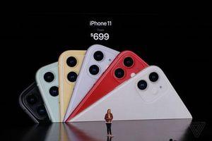Giá bán chính thức của iPhone 11: Rẻ đến bất ngờ!