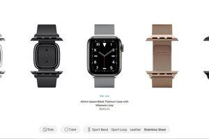 Watch Studio dành cho đồng hồ thông minh Apple thế hệ 5 là tính năng gì?