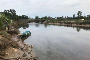 Người dân hoảng hồn vì cá sấu bất ngờ xuất hiện dưới sông ở Hà Tĩnh
