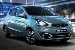 Phân khúc xe đô thị cỡ nhỏ: Mitsubishi Mirage 'đội sổ' bán chậm