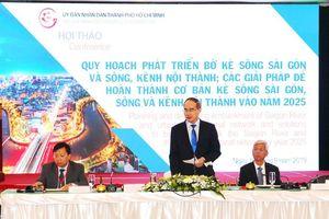 TP Hồ Chí Minh phải có định hướng chiến lược trong quy hoạch sông nước