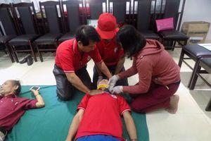 Đà Nẵng: Tập huấn Sơ cấp cứu cho 30 tình nguyện viên Chữ thập đỏ