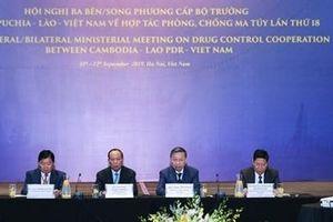 Khai mạc Hội nghị cấp Bộ trưởng Việt Nam - Lào - Campuchia về phòng, chống ma túy
