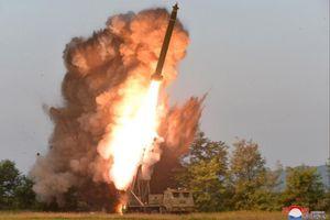 Triều Tiên tuyên bố thử vũ khí pháo phóng loạt siêu lớn