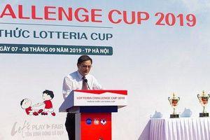 Khai mạc giải bóng đá thiếu nhi thường niên 'Thách thức Lotteria Cup 2019'