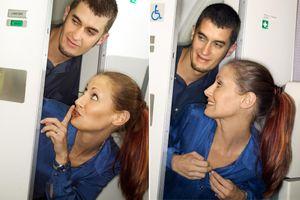 Quan hệ tình dục trong nhà vệ sinh và những trò lố trên máy bay