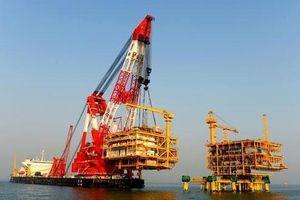 VN theo dõi sát việc tàu cẩu Lam Kình của TQ đi qua vùng đặc quyền EEZ