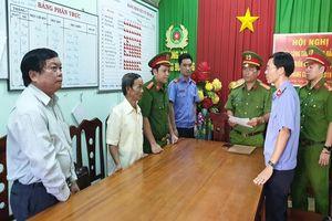 Khởi tố, bắt tạm giam Phó Chủ tịch UBND TP Phan Thiết