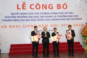 Trường ĐH An Giang chính thức là thành viên ĐH Quốc gia TP.HCM