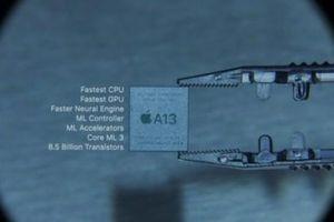 A13 Bionic trên iPhone 11: Con chip mạnh nhất thế giới